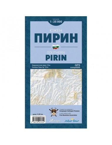 Карта - Южен Пирин