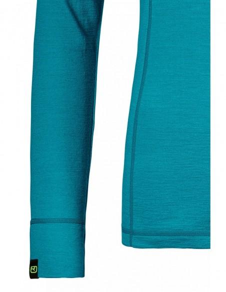 Дамска мерино фланелка с дълъг ръкав 145 ULTRA LONG SLEEVE - 4