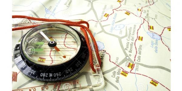 Работа с компас. Определяне и движение по азимут. Ориентиране без компас.