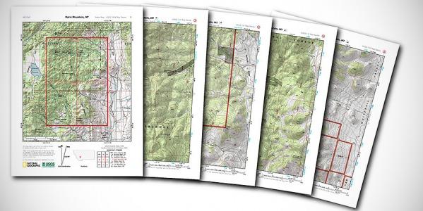 Топографската карта като основно средство за ориентиране.